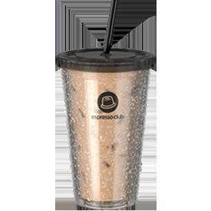 כוס אייס קפה מעוצבת